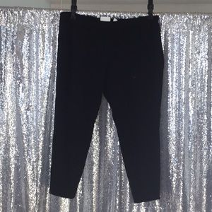 Chico's So Slimming Black straight leg pant size 3